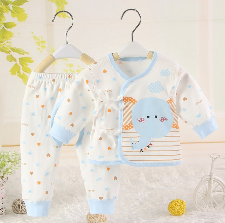 zm21323a the autumn winter newborn baby clothing soft fabric keep-warm baby clothes