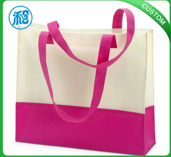 high quality non woven shopping bag with new design and fashion style