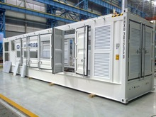 40ft customized mobile electrical equipment container