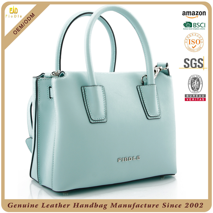 BSCI handbag factory Leather Women's Shoulder Bag Satchel Crossbody Handbags Ladies' Purse Sac Female Adjustable Shoulder Strap