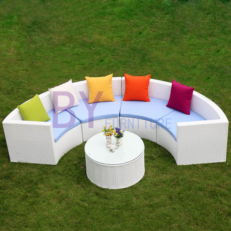 Creative PE Rattan Home decoration Sofa Set