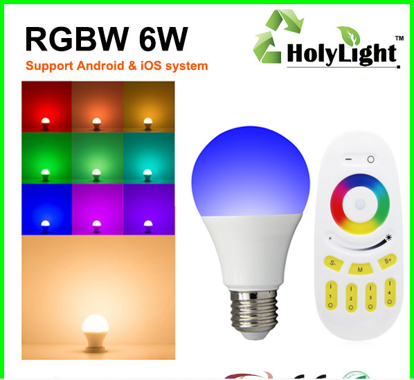 9W E27 RGB Led Bulbs India Price Million Colors with LED RGB Controller Remote Bulb Lamp Light