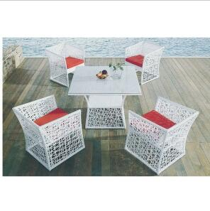 Outdoor Furniture PE Rattan Dining Set