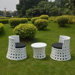 Outdoor PE Rattan Chairs Set