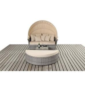 Outdoor Wicker Large Daybed