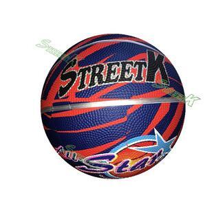 streetk brand Top quality hot-sale custom rubber basketball