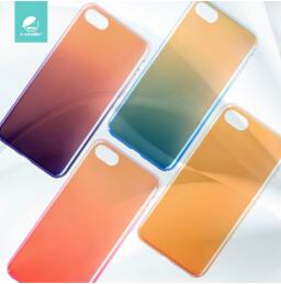 For Iphone 7 Gradient PC Case I-Smile Ultra Thin PC Case For Iphone 7/7 Plus HD-777