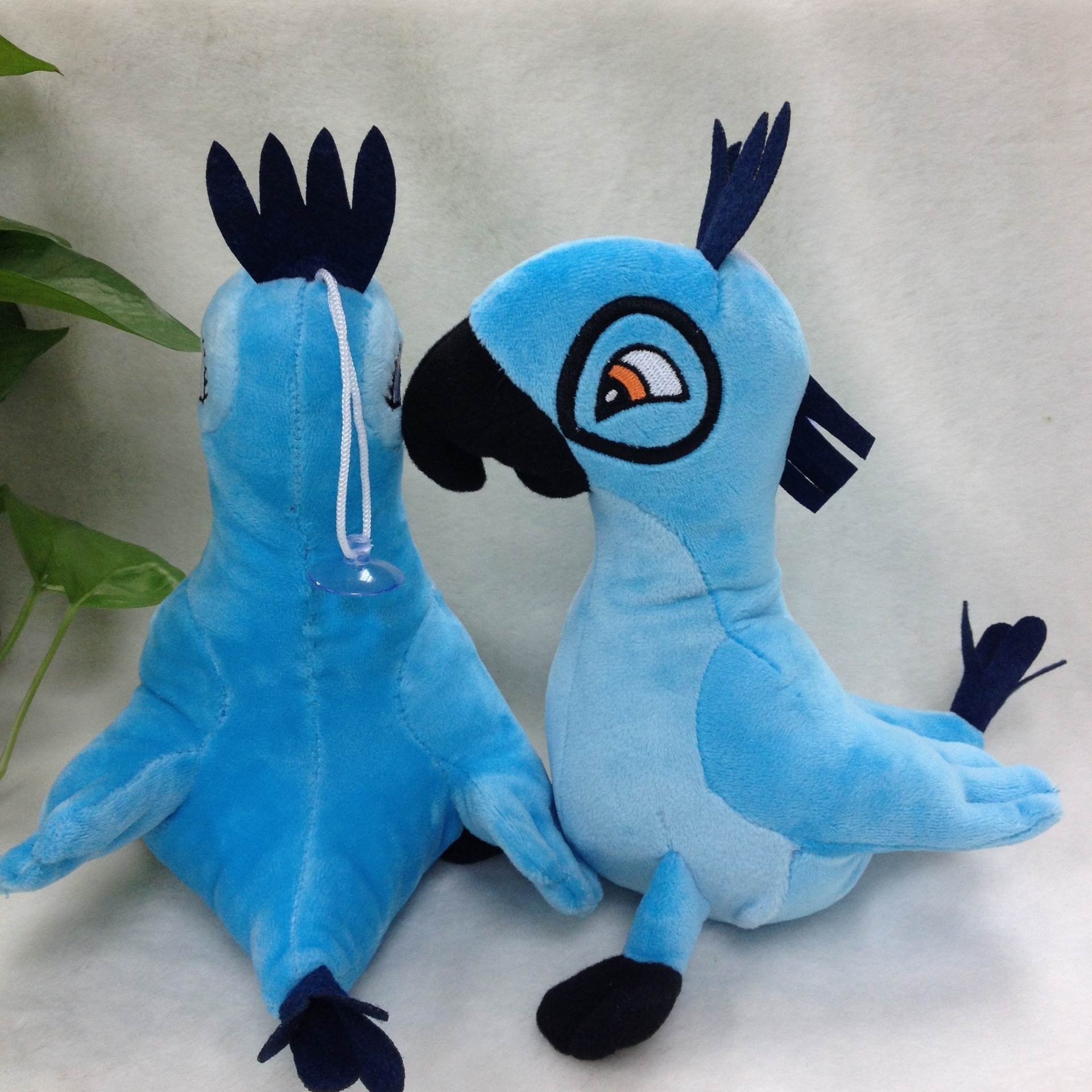 2016 wholesale OEM parrot soft plush toy
