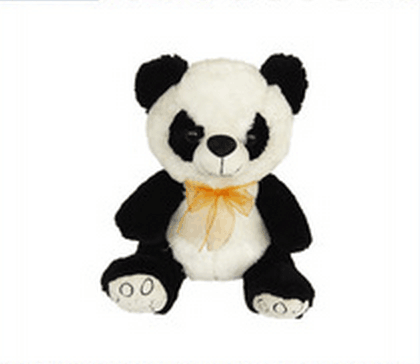 Factory Cheap Cute Bear Panda Plush Animal Toy
