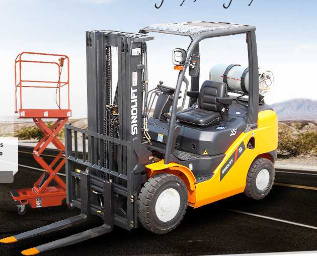 Sinolift CPDS Three Wheels AC Electric Forklift Truck