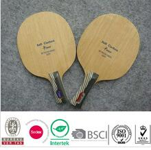 soft carbon table tennis blade