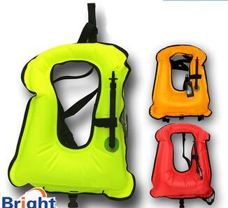 adult inflatable diving snorkel vest