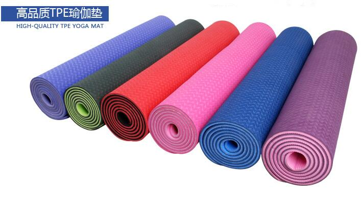 Environment Friendly eco Manufacturer TPE Yoga Mat