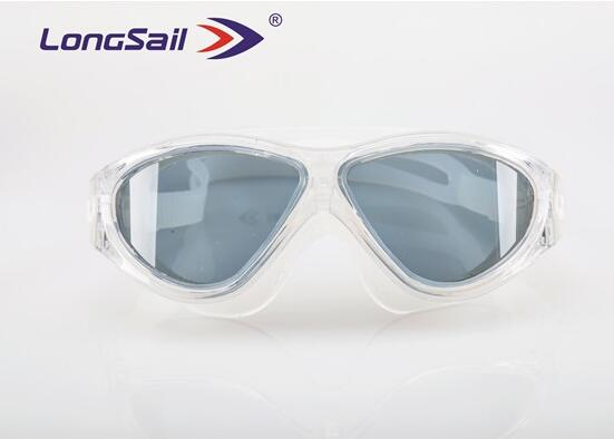 Waterproof Prescription safety Wide View swim goggles