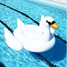 Inflatable Swan Swimming Float
