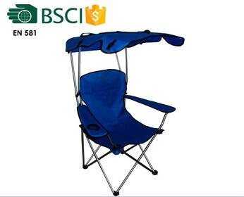 basic style green folding chair