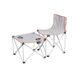 Outdoor Folding Table and Chair Set Fishing Camping Set