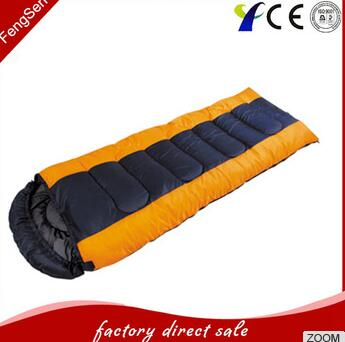 OEM 3 Season Cotton Envelope Camping Sleeping Bag