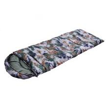 Envelope shape Camping sleeping bag camouflage shape bags