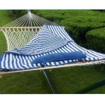 Blue Double Hammock Bed Manufacturer