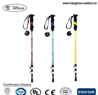 Newest Carbon Fiber Trekking Pole Manufacturer