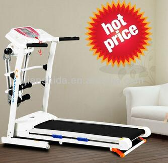 New design Folding Electric Treadmill with Massager and sit-up
