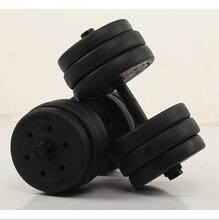 Men Lose weight Hot Muscle Builder plastic adjustable dumbbell