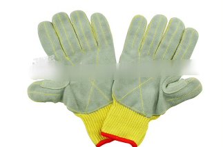 Safety Anti Cutting Leather Work Hand Glove