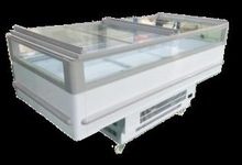 commercial supermarket display freezer