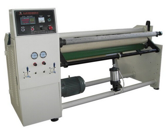 YU-806 cloth tape jumbo roll Rewinding Machine