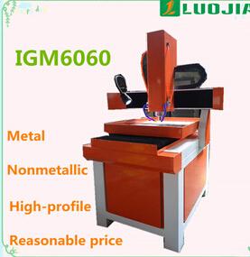igolden China Supplier linear guide 3d metal cnc machine IGM6060
