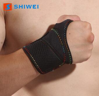 top SHIWEI-1001 sports wrist band carpal tunnel wrist support manufacturer