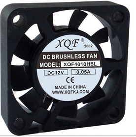 DC 40*40*10 mm ,Low noise Brushless cooling fan