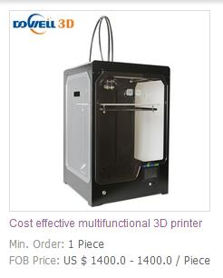 Cost effective multifunctional 3D printer