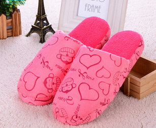China Soft Warm Winter Bedroom And Hotel Slippers