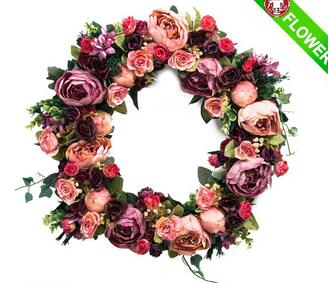 Hand-made Artificial Flower Garland For Wedding Decoration
