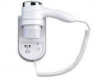 Hot Sale Hotel Hair Blower with Shaver Socket