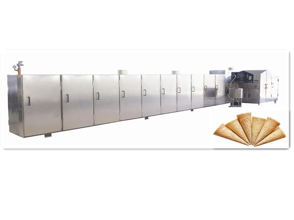 Automatic Rolled Sugar Cone Baking/Making Machine