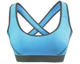 Fashionable high quality open hot sexy girl bra custom blank sports bra