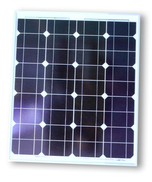 Complete Mono Solar Panel 50W with Accessories