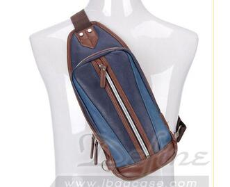 The hot selling professional high quality OEM Leisure fashion men sling bag