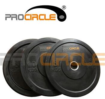 Olympic Crossfit Weight Plate Rubber Black Plate
