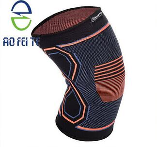 Aofeite 2016 Compression Knitted Leg/Knee Sleeves, Patella Meniscus Injure Recover Helper