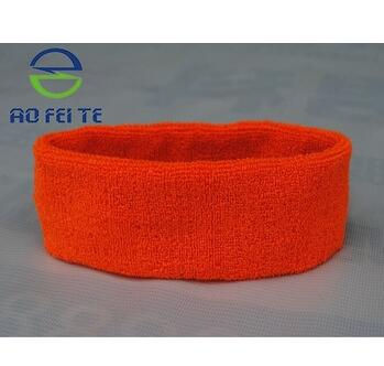 Hot Sale on Ebay Custom Sport Cotton Sweatband in High Quality