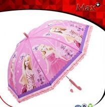 Eco-friendly kids POE cartoon character umbrella cheap