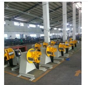 heavy decoiler machine for working