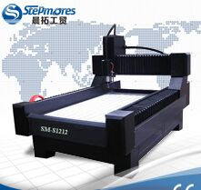 CNC router stone working