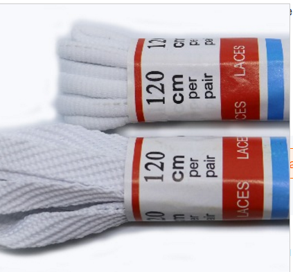 Eco-friendly custom polyester colored replacement shoelace