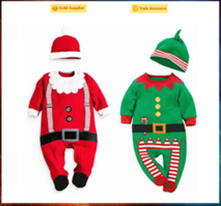 Wholesale hot sale Christmas costume toddler cosplay costume