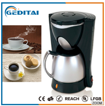 Top quality automatic stainless steel drip coffee maker